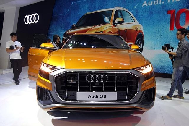Q8 đem đến cho người sử dụng một cảm giác thể thao năng động và đẳng cấp khác biệt hoàn toàn so với các mẫu SUV khác của Audi.