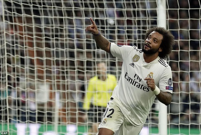 Niềm vui của Marcelo...