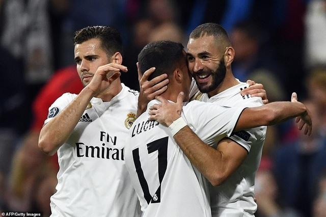 Real Madrid đã tìm lại chiến thắng cần thiết sau 5 trận chỉ hòa và thua