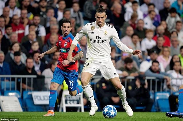 Bale chơi khả năng nổ ở trận đấu này