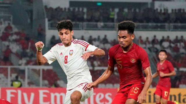 U19 Indonesia (áo đỏ) đứng trước cơ hội lớn để dự World Cup U20