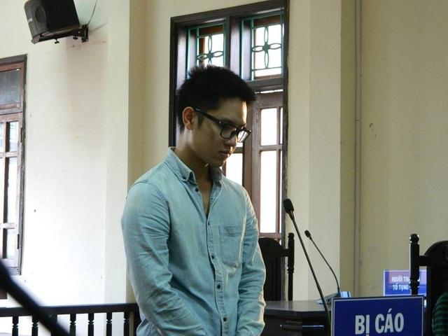 Bị cáo Kiên tại phiên tòa.