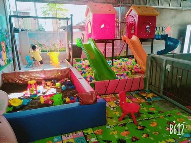 Một khu vui chơi của Nhóm lớp mầm non Thuận Chân IQ.