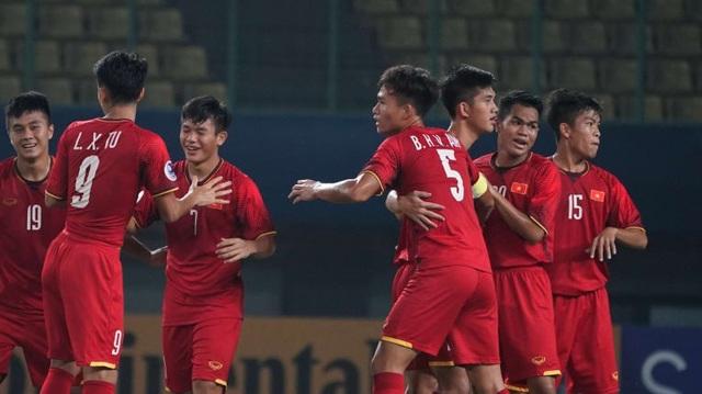 U19 Việt Nam là đội bất ngờ vượt lên dẫn trước