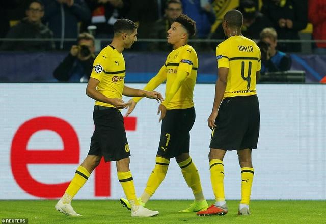 Dortmund cầm chắc vé đi tiếp, Atletico với 6 điểm/3 trận vẫn còn nhiều cơ hội, khi cả Monaco lẫn Club Brugge cùng có được 1 điểm/3 trận