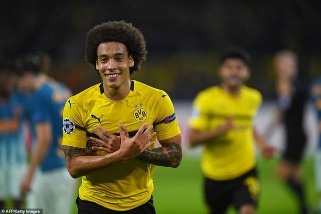 Witsel mở tỷ số cho Dortmund ở phút 38