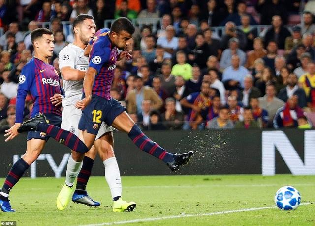 Barcelona chiến thắng nhờ lối chơi đầy sắc sảo