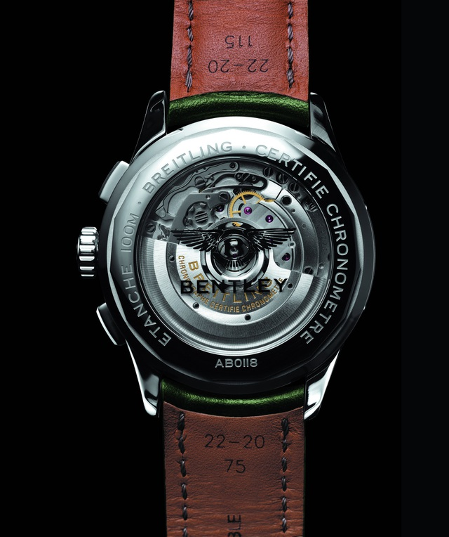 Bentley và Breitling hợp tác ra đồng hồ đeo tay cao cấp - 3