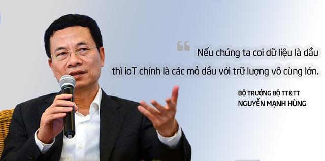 Bộ trưởng Nguyễn Mạnh Hùng: IoT giúp Việt Nam bứt phá, nhưng phải bằng tư duy mới - 1