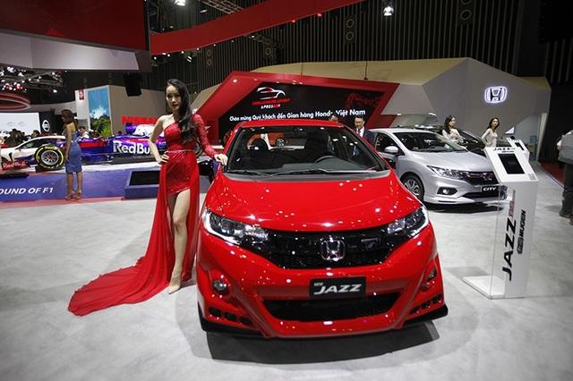 Jazz - mẫu hatchback 5 cửa đa năng đại diện cho kỷ nguyên mới của Honda