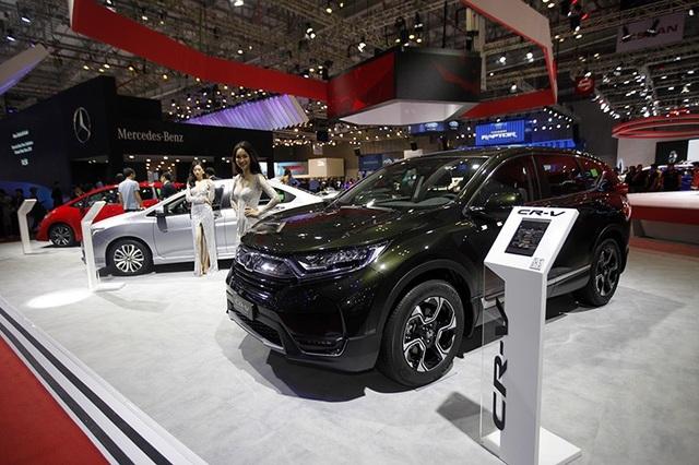 Honda CR-V thế hệ thứ 5 với thiết kế 7 chỗ và động cơ tăng áp hoàn toàn mới