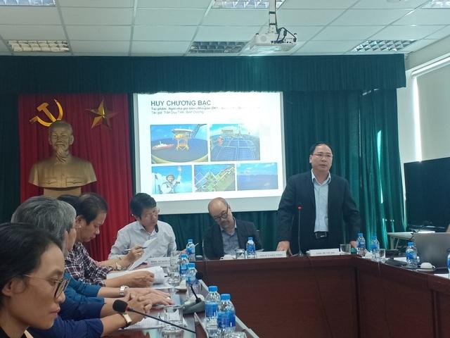 Toàn cảnh buổi họp báo Triển lãm Ảnh nghệ thuật Việt Nam 2018. Ảnh: Tùng Long.