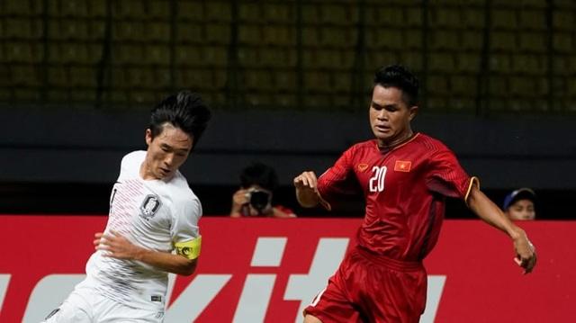 U19 Việt Nam đã gây ra nhiều khó khăn cho Hàn Quốc