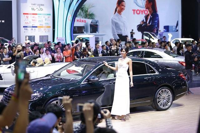 Gian hàng lớn nhất Triển lãm ô tô Việt Nam 2018 có gì hấp dẫn? - 1