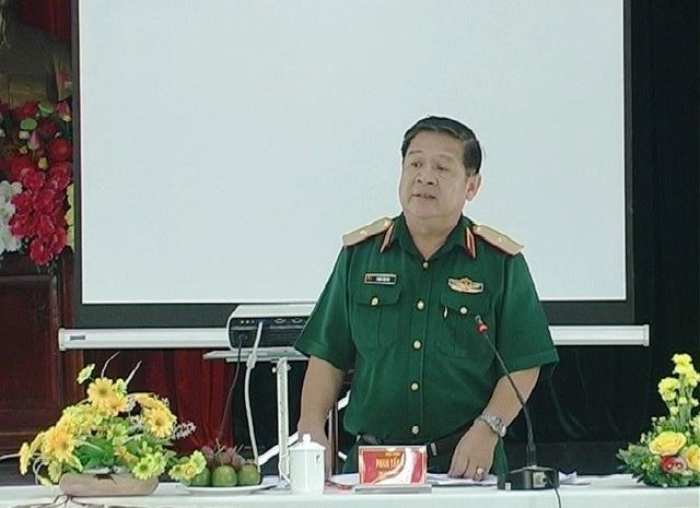Thiếu tướng Phan Tấn Tài - Phó Tư lệnh Quân khu 7