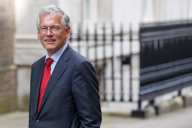CEO Philips Frans van Houten (Ảnh: Bloomberg)
