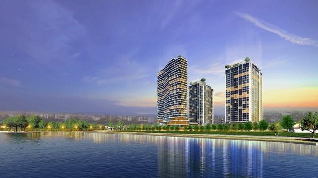 Tòa nhà chung cư hỗn hợp OCT 8 – Mandala Luxury thuộc dự án tòa nhà chung cư hỗn hợp Apec Aqua Park sắp được xây dựng.