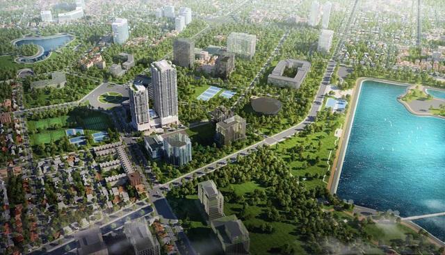Các dự án có vị trí view hồ chiếm ưu thế về giá trị Bất động sản