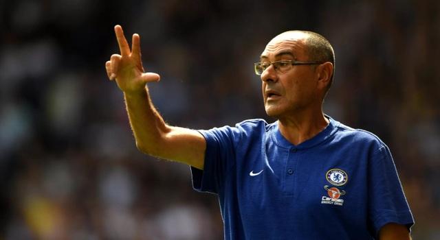 Không có Courtois, Chelsea vẫn bất bại dưới sự dẫn dắt của HLV Maurizio Sarri