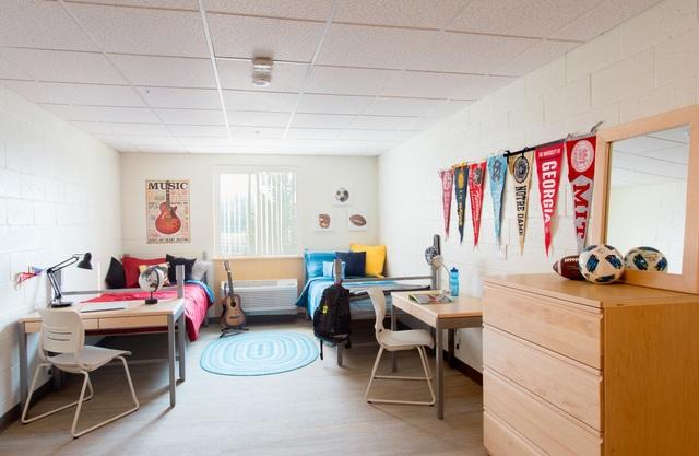 Phòng ở của học sinh nội trú