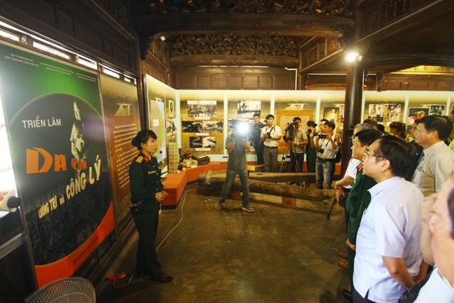 Triển lãm Da cam - Lương tri và công lý do Bộ Tư lệnh Hóa học (Bảo tàng Binh chủng Hóa học) phối hợp với Bảo tàng Chứng tích chiến tranh (Sở VH&TT TP Hồ Chí Minh), Bảo tàng Lịch sử tỉnh Thừa Thiên Huế (Sở VH&TT tỉnh Thừa Thiên Huế) tổ chức
