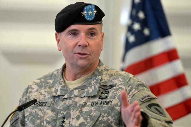 Trung tướng Mỹ Ben Hodges (Ảnh: US Army)