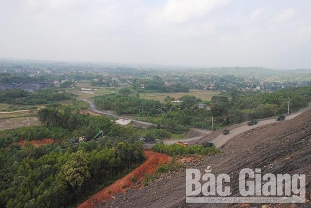 Công ty cổ phần Khai thác khoáng sản Bắc Giang: Đổ thải trái phép gây nguy hại cho người dân - Ảnh 6.
