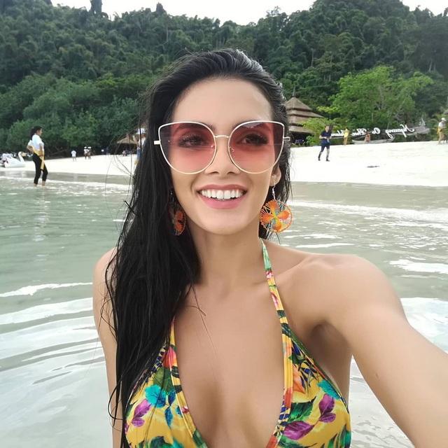Clara Sosa là hoa hậu hòa bình của Paraguay