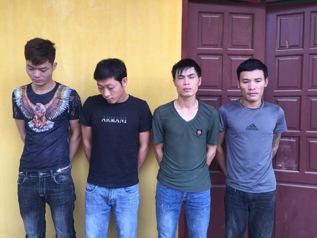 Các đối tượng trộm cắp tại cơ quan công an