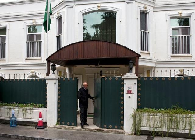 Lãnh sự quán Ả rập Xê út tại Istanbul. (Ảnh: NYT)