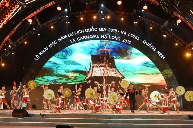 Lễ hội Carnival Hạ Long 2018 diễn ra sôi động tại Quảng trường Sun Carnival Plaza