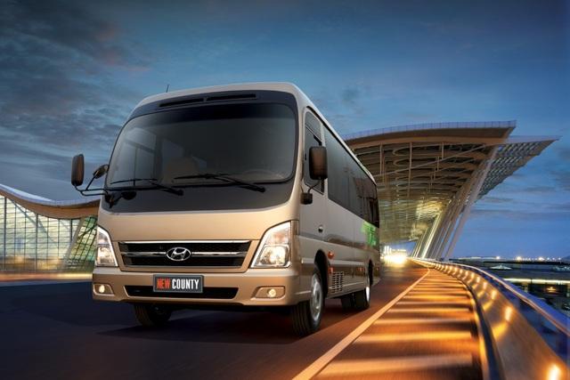 Hyundai Thành Công giới thiệu New County thế hệ mới - 1
