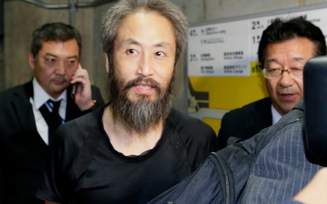 Nhà báo Jumpei Yasuda (Ảnh: Telegraph)
