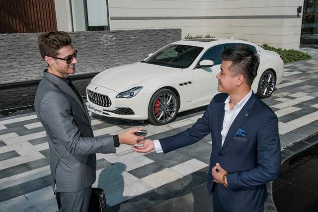 Maserati Việt Nam bắt đầu cung cấp dịch vụ Valet parking - Hỗ trợ đậu xe dành cho các khách hàng tại TP HCM