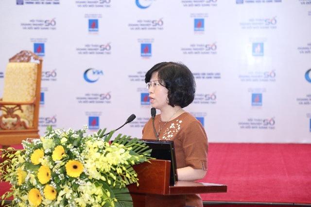 Bà Nguyễn Thị Minh Huyền – Phó Cục trưởng Cục Thương mại Điện tử và Kinh tế số
