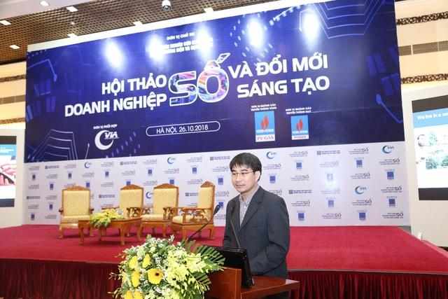 Ông Phạm Hồ Huy – Giám đốc Phát triển Kinh doanh cao cấp Khối Nhà nước và doanh nghiệp quốc doanh tại Hội thảo
