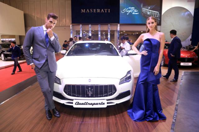 """Maserati mang """"làn gió Địa Trung Hải"""" đến Triển lãm ô tô Việt Nam 2018 - 3"""
