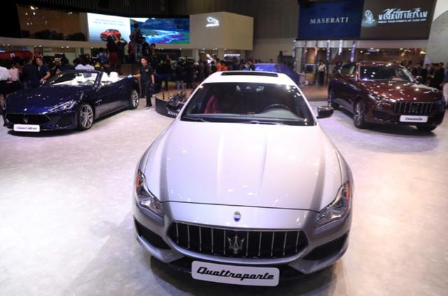 GranCabrio, Levante và Quattroporte được trưng bày tại VMS 2018