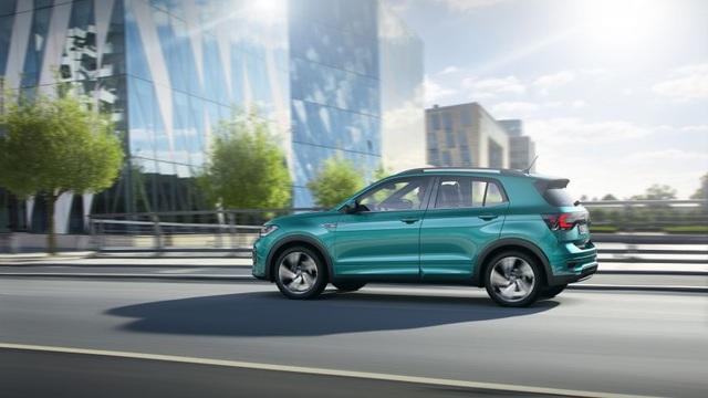 Volkswagen T-Cross - Tí hon trên thị trường SUV - Ảnh 5.