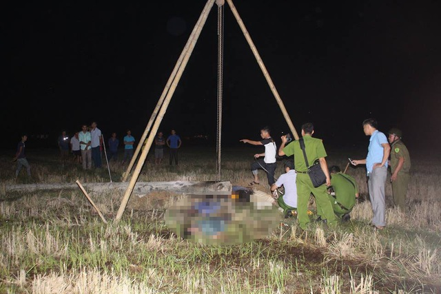 Hiện trường vụ tai nạn điện khiến 4 người tử vong thương tâm.