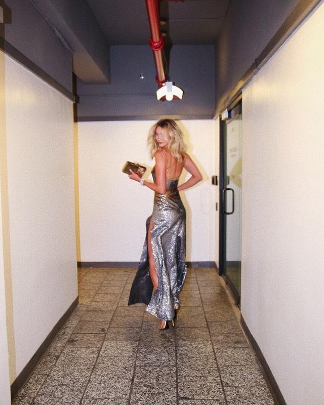 Siêu mẫu cao 1,88m Karlies Kloss là một trong những chân dài đình đám nhất nước Mỹ