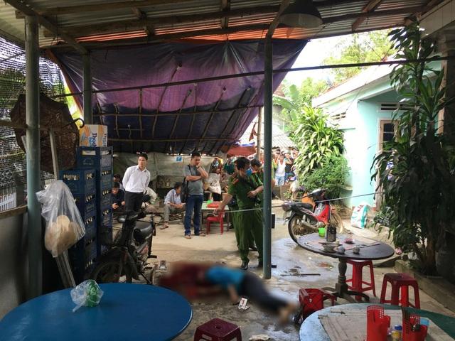 Công an tỉnh Quảng Ngãi khám nghiệm hiện trường vụ án