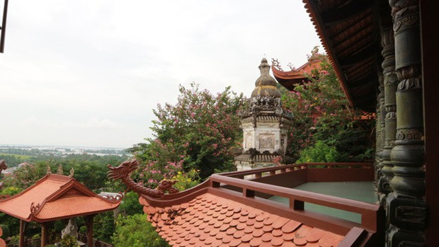 Kiến trúc tinh hoa mang hơi hướng của văn hóa Trung Hoa