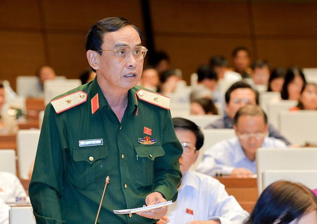 Thiếu tướng Nguyễn Minh Hoàng.