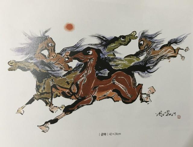 Danh hoạ nổi tiếng Hàn Quốc chính thức khai mạc triển lãm tranh tại Việt Nam - 9