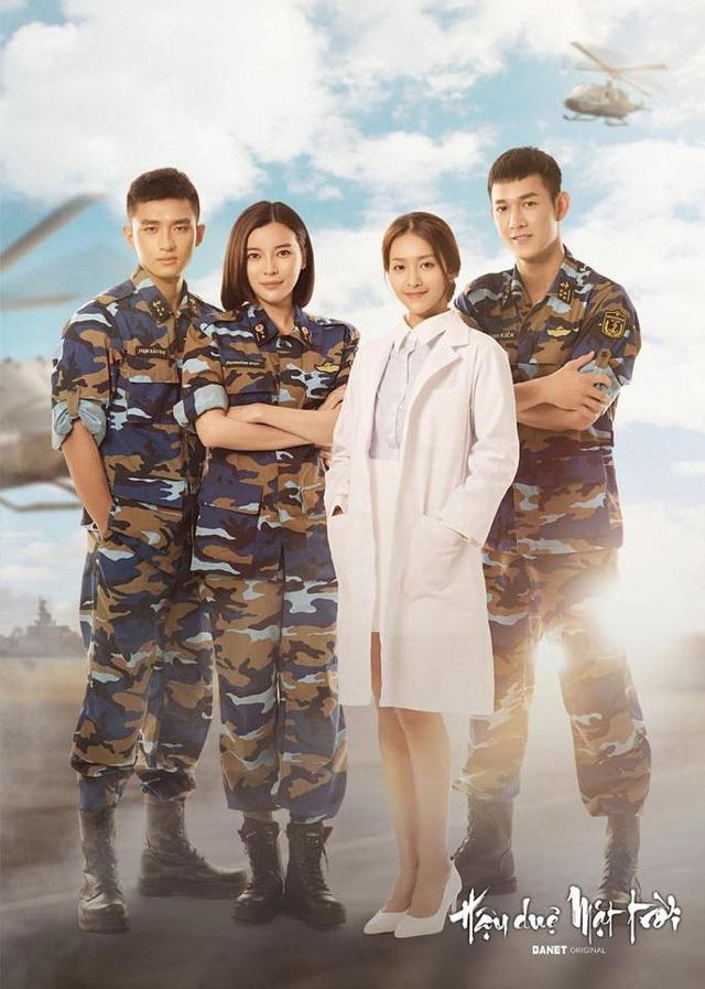 Bộ phim Hậu duệ mặt trời phiên bản Việt do nhiều diễn viên trẻ đảm vai.