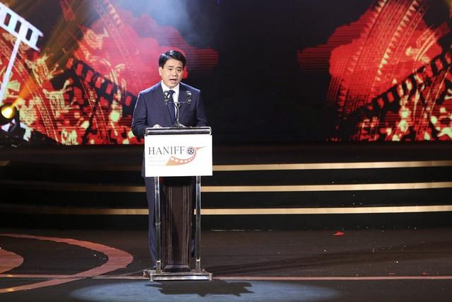 Ông Nguyễn Đức Chung - Chủ tịch UBND TP. Hà Nội phát biểu tại sự kiện.