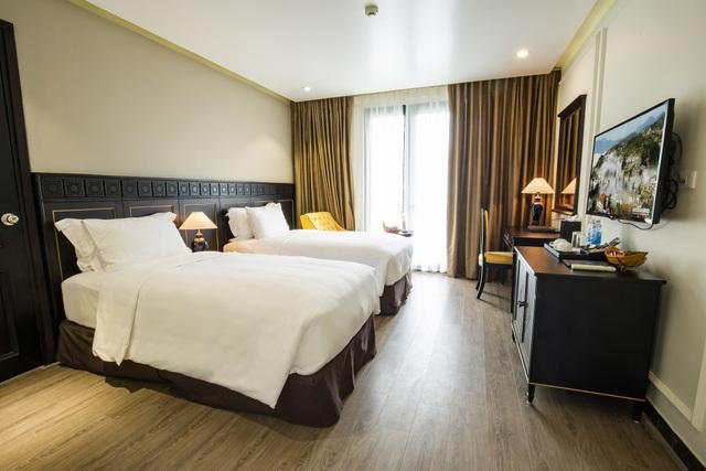 Phòng ngủ bên trong khách sạn BB Sapa