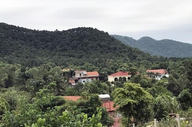 Người dân vào sống trong rừng phòng hộ ở xã Minh Phú từ đầu những năm 1990