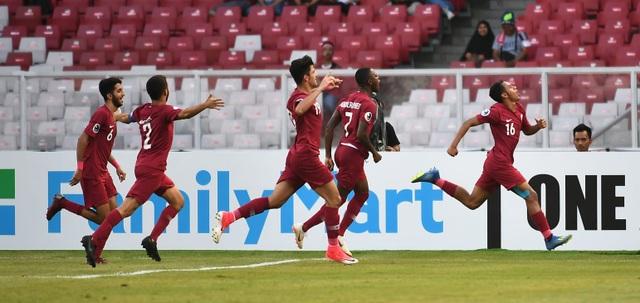 U19 Qatar vượt qua U19 Thái Lan để giành vé vào bán kết giải châu Á